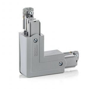 Connecteur d'angle Noa cond. protection ext. gris