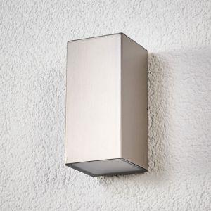 Applique d'extérieur LED Jana acier inox 16 x 8cm