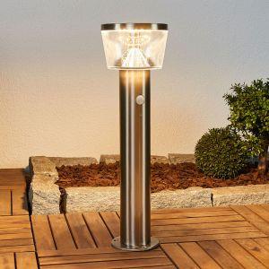 Potelet LED solaire Antje, détecteur de mouvement