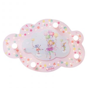 Plafonnier LED Princesse Lillifee Nuage