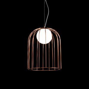 Abat-jour cuivré - suspension de designer Kluvi