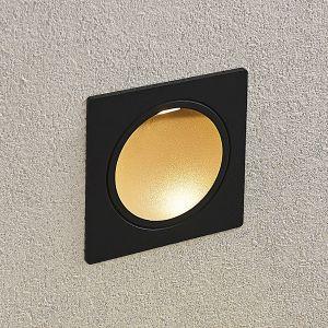 Applique encastrable LED Pordis, IP65, carrée