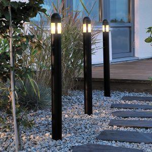 Set de 3 bornes lumineuses LED polyvalentes Amalfi
