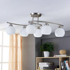 Plafonnier de salle à manger Svean à 6 lampes