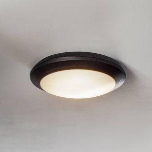 Applique LED d'extérieur LED Umberta noire, CCT