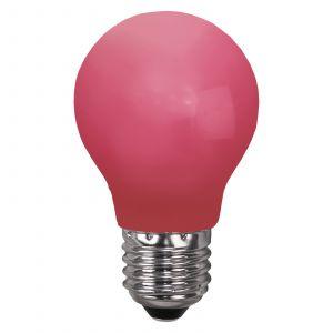 Ampoule LED E27 pour guirlande, anti-casse, rouge