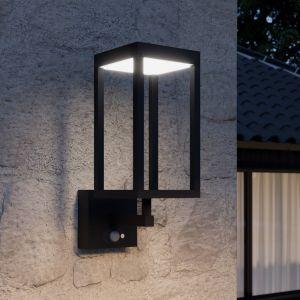 Lucande Qimka applique solaire LED avec capteur