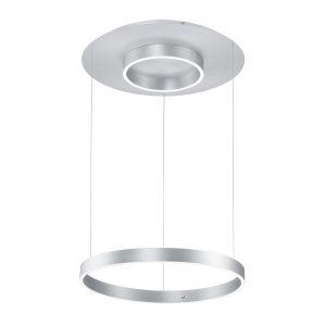B-Leuchten Delta suspension 60cm, aluminium mat