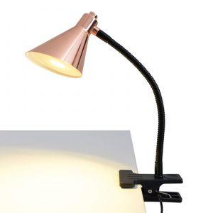 Lampe à pince LED Janita couleur cuivre