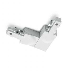 Connecteur angle DUOline protection ext. blanc