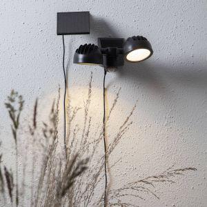 Lampe solaire LED Powerspot Sensor, à 2 lampes