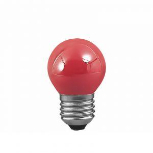 E27 25W Ampoule goutte pour guirlande, rouge