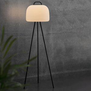 Lampadaire LED Kettle trépied métal abat-jour 36cm