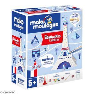 Coffret moulage en plâtre - Ma tour Eiffel - Mako moulages - 1 moule