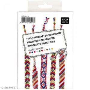 Kit bracelet brésilien Multicolore