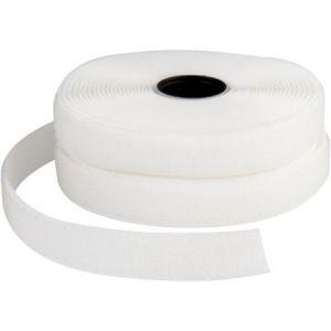 Ruban non-adhésif - Blanc - 20 mm x 5 m