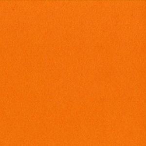 Feutrine épaisse 2 mm 30 x 30 cm Orange bouton d'or