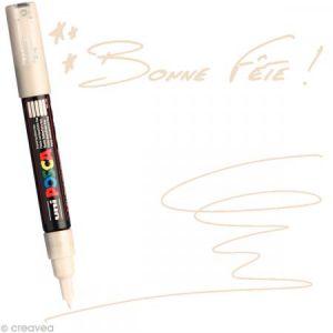 Marqueur Posca pointe conique extra fine 1 mm Beige