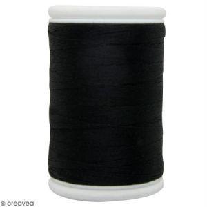 Fil à coudre en coton câblé DMC Nv. 40 - Noir - 300 m