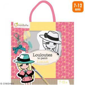 Kit créatif Les Louloutes à peindre - Lucia