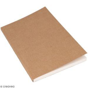 Cahier kraft souple pour bullet journal - 160 pages