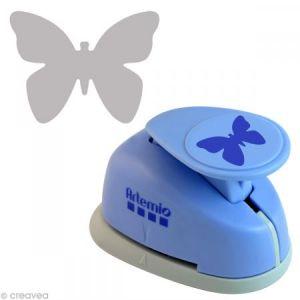 Perforatrice géante Papillon stylisé - 3.5 cm x 4 cm environ