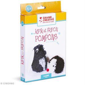 Kit Pompons - Animaux mignons