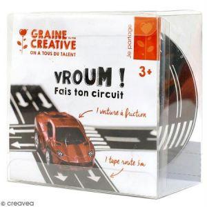 Rouleau masking tape large - Motif route - 5 cm x 5 m