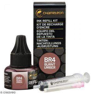 Kit recharge d'encre Chameleon - Marron Burnt umber - N° BR4