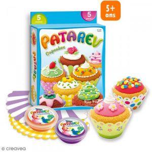 Coffret Pâte à modeler Patarev - Cupcakes