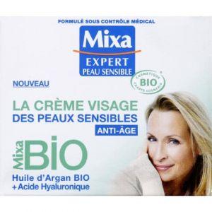 Crème visage anti-âge bio