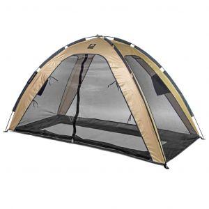 DERYAN Tente lit moustiquaire 200x90x110 cm Doré