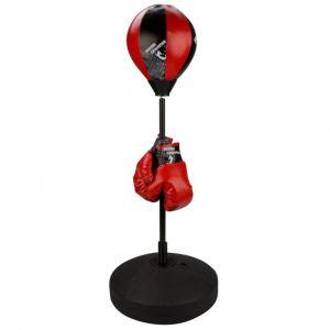Avento Punching ball  reflex junior noir/rouge