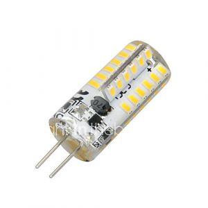 2W G4 Ampoules Maïs LED T 48 SMD 3014 100-200 lm Blanc Chaud 3000-3500 K AC 12 V