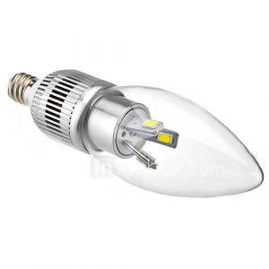 3W E12 Ampoules Bougies LED C35 6 SMD 5630 180-250 lm Blanc Naturel 6500K K Décorative AC 100-240 V