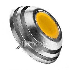 2W G4 Ampoules Globe LED 1pcs COB 160lm lm Blanc Chaud 3000k K Décorative DC 12 V