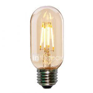 E26/E27 Ampoules à Filament LED ST58 4 COB 360LM lm Blanc Chaud Blanc Froid 2700-6000K K Décorative AC 100-240 V