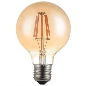 E26/E27 Ampoules à Filament LED G95 4 LED Haute Puissance 360lm lm Blanc Chaud 2700 K Décorative AC 100-240 V