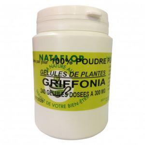 GELULES GRiFFONIA dosées à 300 mg. 240 gélules.