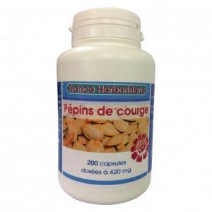 HUILE COURGE 200 capsules dosées à 420 mg