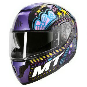 Mt Helmets Atom Sv Axa XL Gloss Black - Gloss Black - Taille XL