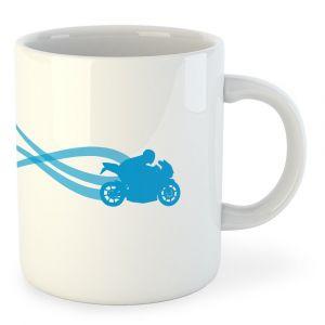 Tasses Kruskis Motorbike Estella - White - Taille 325 ml (11 oz)