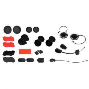 Sena 10r Accessory Kit One Size Black / Red - Black / Red - Taille One Size