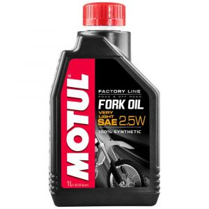 Entretien et maintenance Motul Fork Oil Factory Line Very Light 2.5w - Taille 1 litre