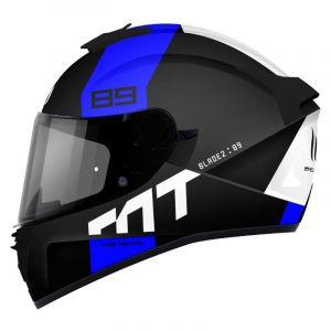 Mt Helmets Blade 2 Sv 89 XS Matt Blue - Matt Blue - Taille XS
