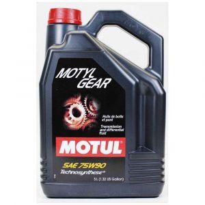 Entretien et maintenance Motul Motylgear 75w90 - Taille 5 litres