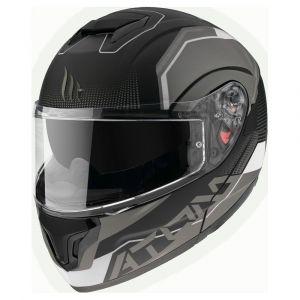 Mt Helmets Atom Sv Quark XXL Gloss Matt Pearl White - Gloss Matt Pearl White - Taille XXL