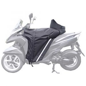 Housses moto Bagster Leg Cover Apron Winzip Yamaha Tricity - Black - Taille One Size