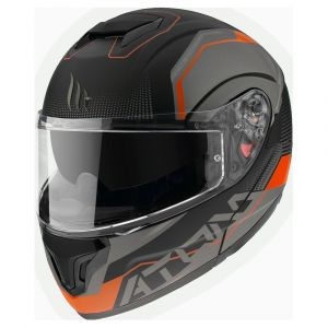 Mt Helmets Atom Sv Quark XS Matt Fluor Orange - Matt Fluor Orange - Taille XS