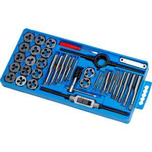 Outils Hi-q-tools Thread Cutter Set 39 Metric Pieces